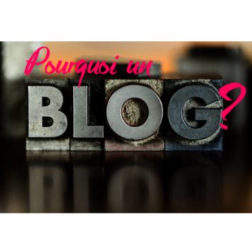 Pourquoi un blog ?